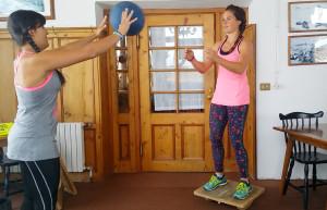 Equilibrio con tavolette propiecettive per principianti e non solo!