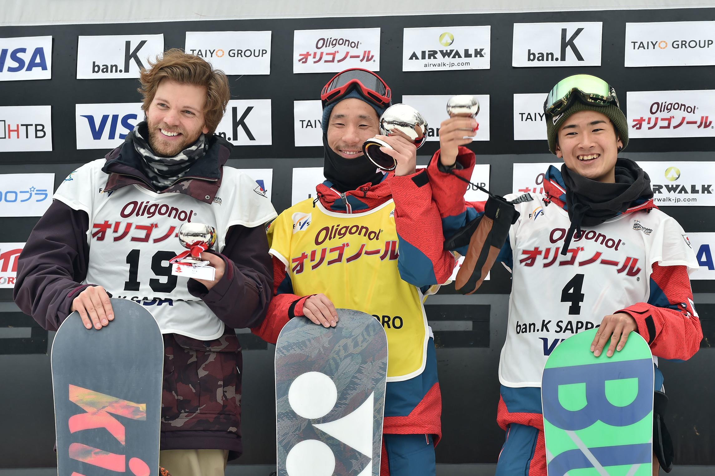 Podio maschile di Sapporo