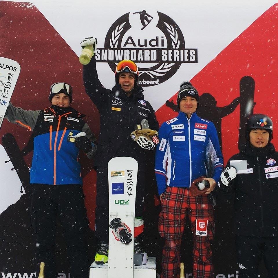 Snowboard alpino: vince Coratti, quinta Profanter
