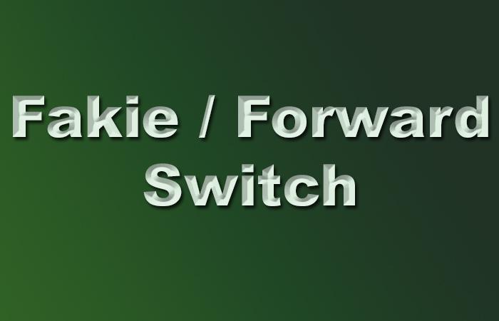 Fakie/Forward e Switch