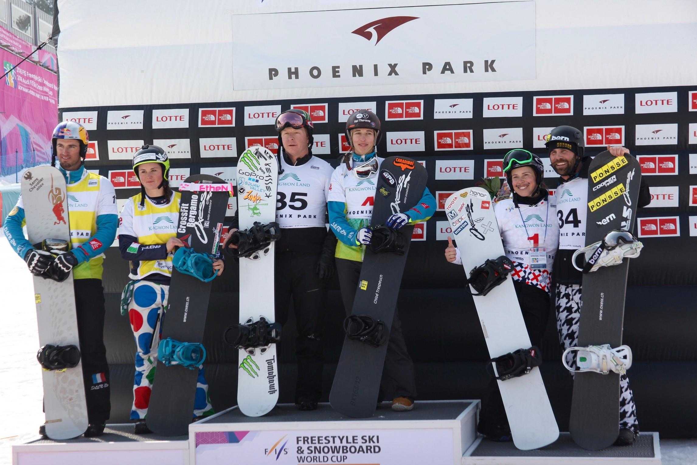 Trespeuch e Holland trionfano sulla nuova pista olimpica