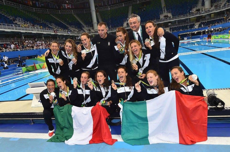Rio giorno 14: argento del Setterosa, finale per la pallavolo!