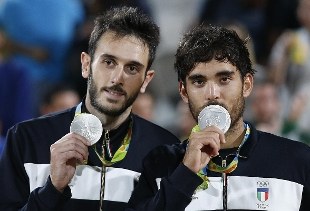 Rio Giorno 13: Lupo-Nicolai colorano d'argento il Beach Volley, il Settebello cede alla Serbia