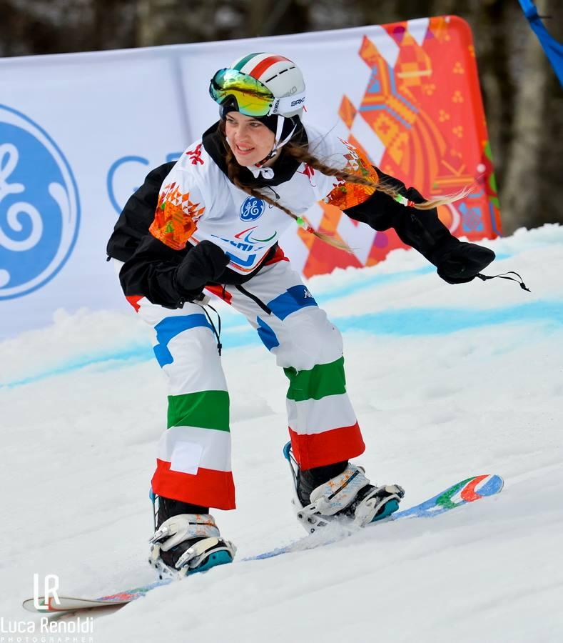 Veronica Yoko Plebani snowboard