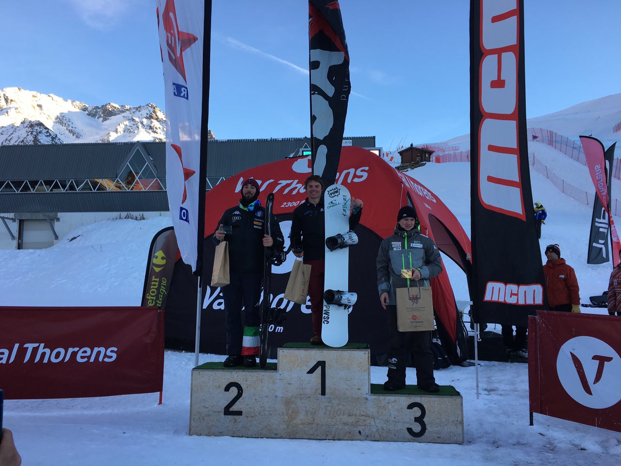 Coppa Europa Val Thorens: Menconi è secondo, Gallina quarta