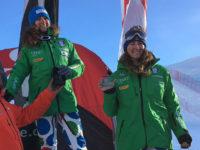 Belingheri e Gallina sul podio di Coppa Europa
