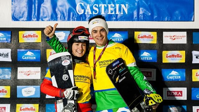 Sventola la bandiera italiana nel cielo di Bad Gastein. Mick vince il PSL di Coppa del Mondo!