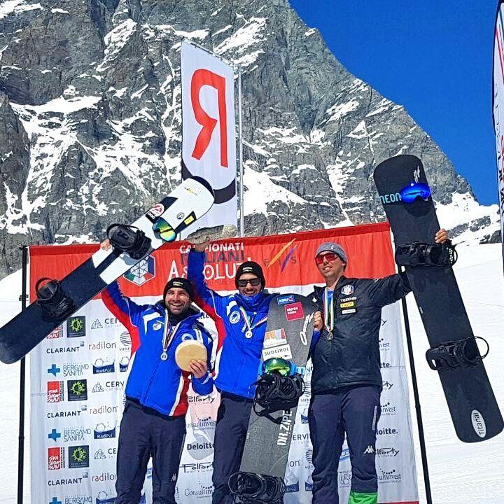 A Moioli e Visintin i titoli italiani di snowboardcross