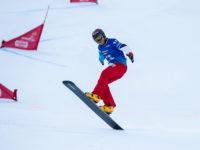 FIS Snowboard World Cup - Carezza ITA - PGS - CAVIEZEL Dario SUI © Miha Matavz
