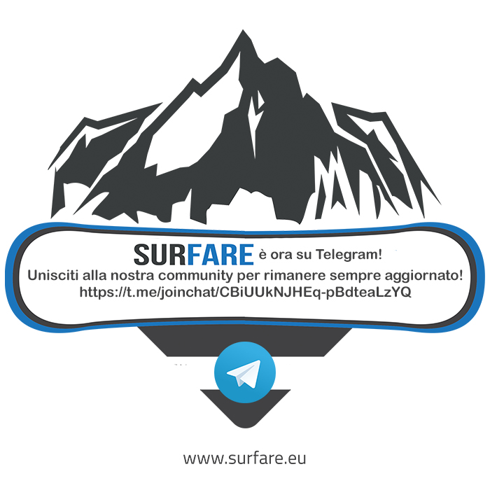 Surfare è su Telegram