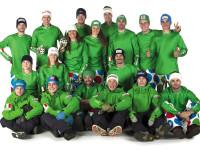 FISI IN TOUR- Photo shooting ufficiale FISI. Squadra femminile maschile fondo snowboard parallelo. Bolzano (Ita) , 15-10-2016 foto (Alessandro Trovati- Pentaphoto/Mateimage)